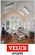Velux Skylights at J&M Windows and Glass at San Jose