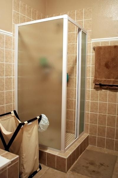 opaque-shower-door